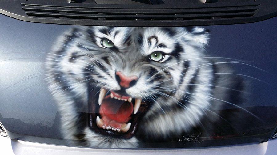Airbrush für Fahrzeuge