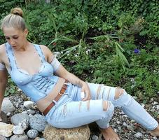 Jeans Corsage